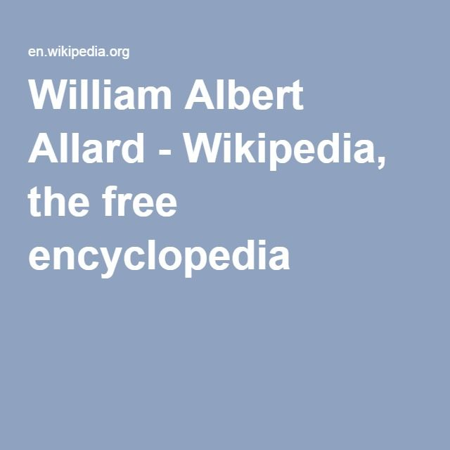 William Albert Allard - Wikipedia, the free encyclopedia