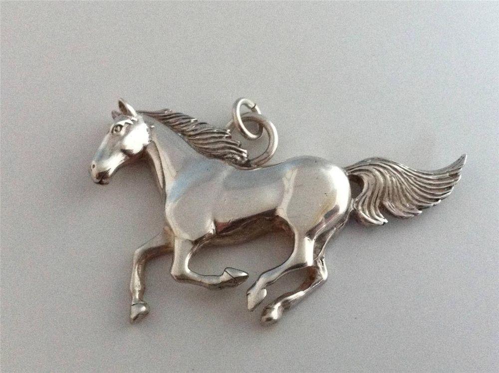 Vintage glen sandoval solid sterling silver horse pendantsigned vintage glen sandoval solid sterling silver horse pendantsigned aloadofball Gallery