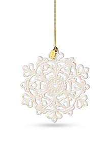 2017 Snow Fantasies Snowflake Ornament