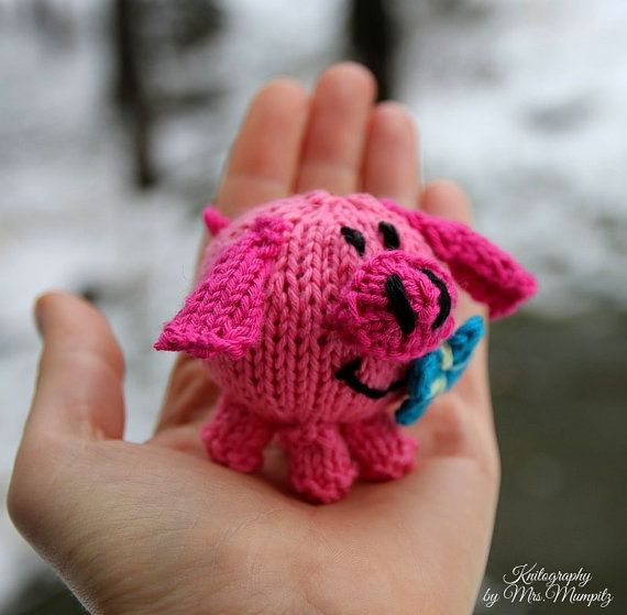 Toy pig knitting pattern pdf for beginners and advanced knitters toy pig knitting pattern pdf for beginners and advanced knitters spring gift and decoration easter gift for kids and adults negle Gallery