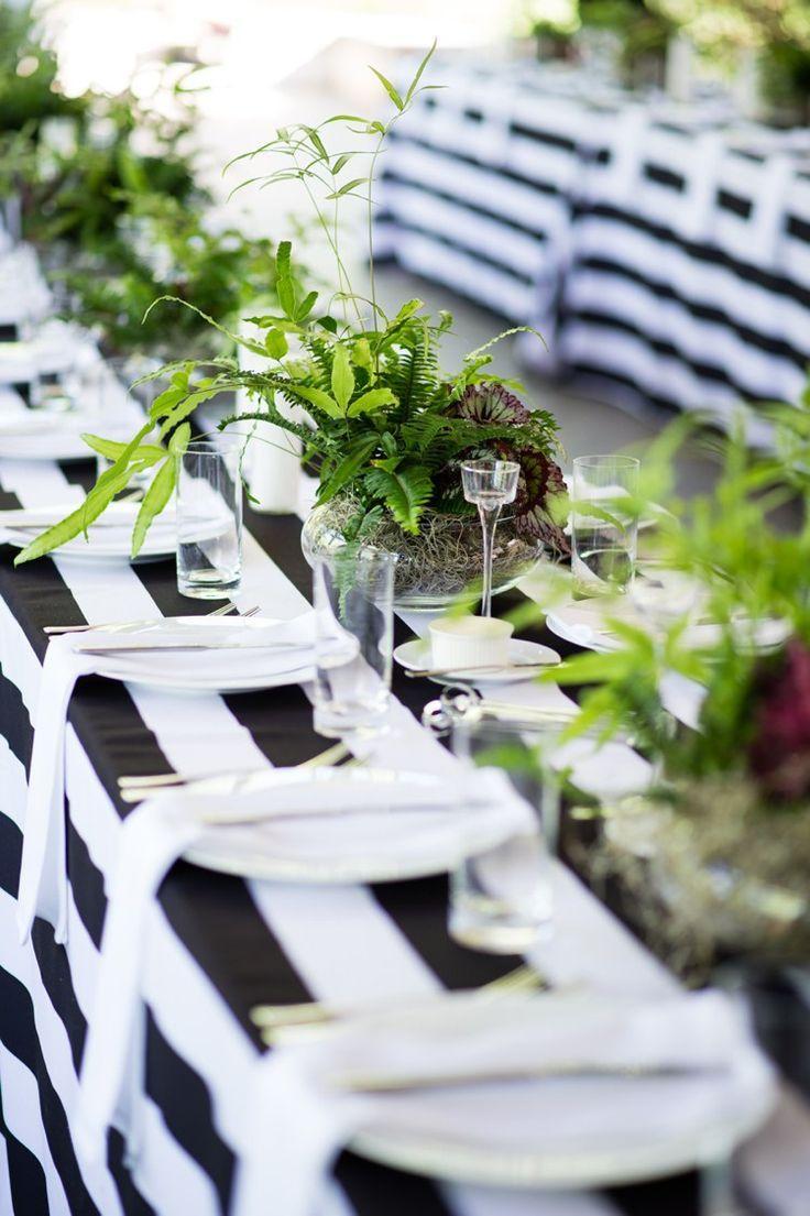 Modern Monochrome Sculpture Garden Wedding In Texas Monochrome