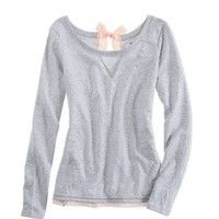 Aerie Bow-Back Sweatshirt by American Eagle
