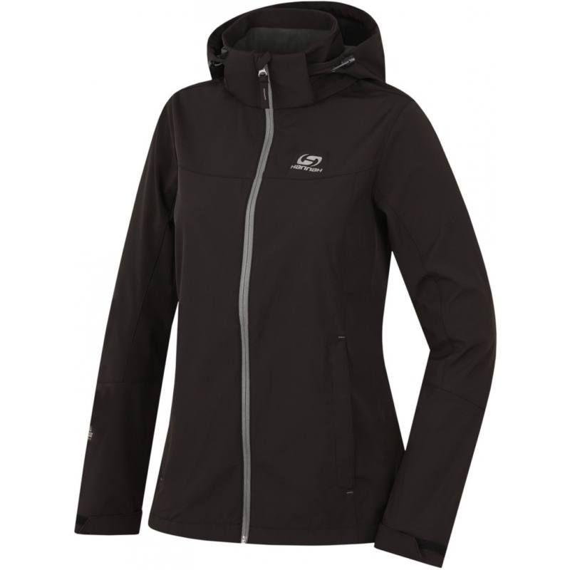 Karrimor Mens Alpiniste Soft Shell Jacket Ventilation Pockets Hooded Lined