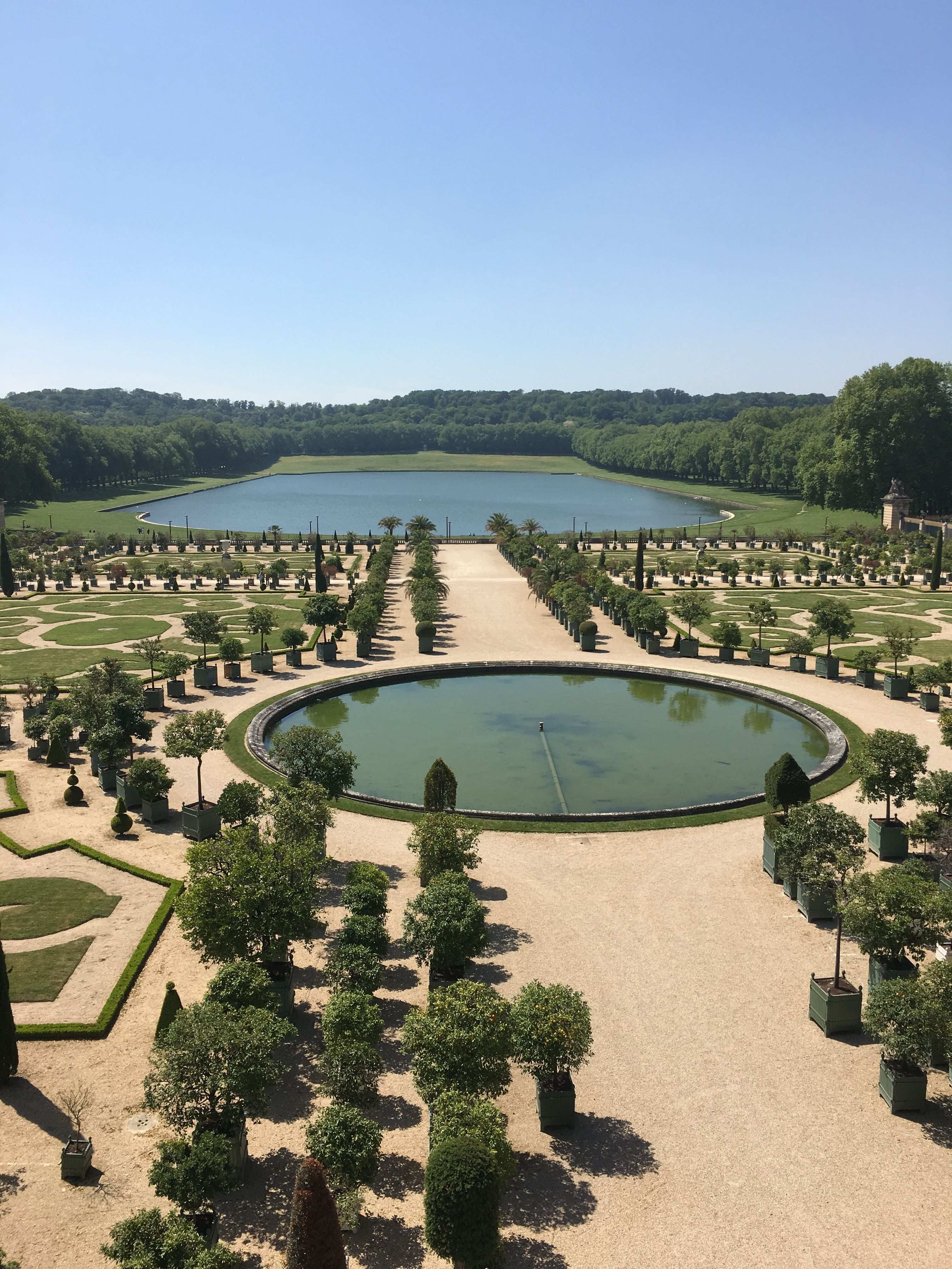 This Is One Side Of The Jardin At The Palace Of Versailles Palace Of Versailles Study Abroad Abroad