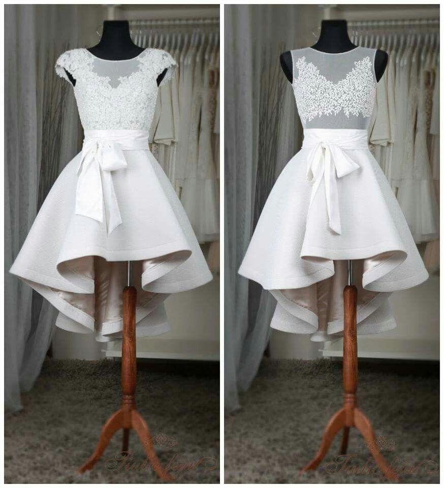 Neoprene wedding dress   Schöne kleider, Ballkleid kurz ...