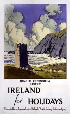Vintage Ireland Travel Posters Vintage Ireland Ireland Travel