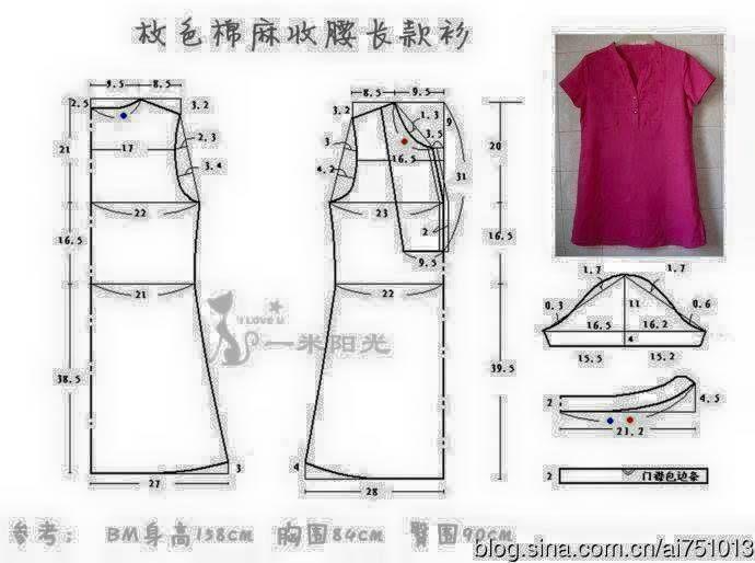 Pin de hs kang en blouse | Pinterest | Ropa, Bordado y Patrones faciles