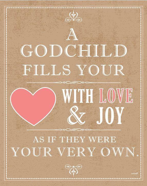 7e0c25be5cd3294cc5a184b1b59b3342 love for your godchild love pinterest quotation, birthday