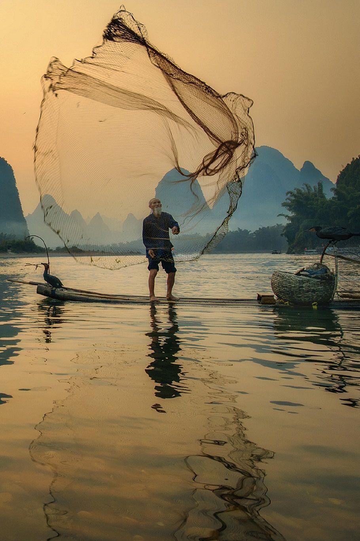 Dancing Fisherman By Bobby Joshi On 500px Photos Paysage Image Japon Paysage Oriental