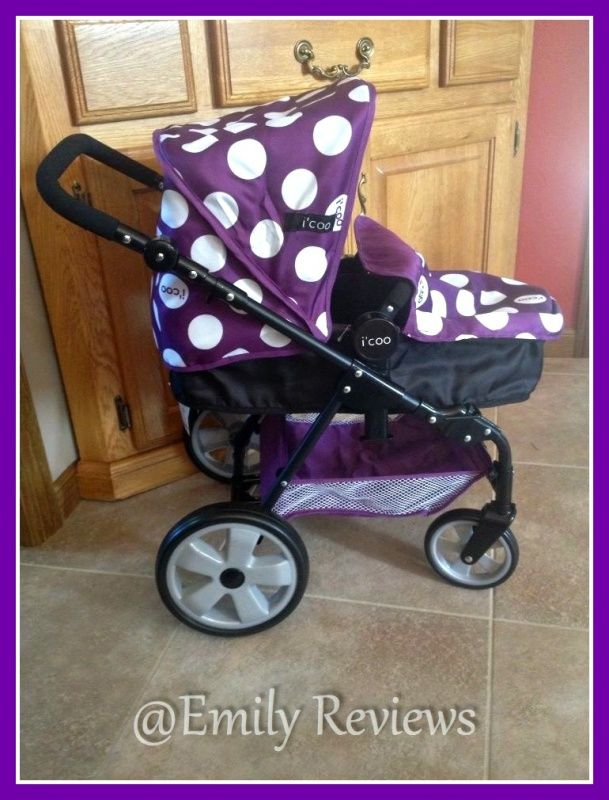 """i'coo """"Grow With Me"""" Doll Stroller & High Chair Set Review ..."""