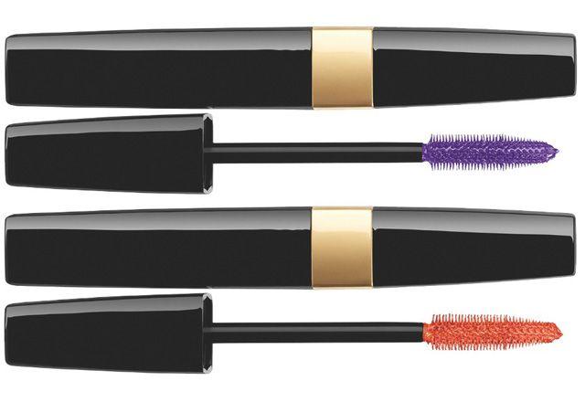Chanel-2014-Summer-Reflets-d'Été-de-Chanel- Inimitable Waterproof / Mascara Multi-Dimensionnel -•67 Violet Touch (Purple with Gold Shimmer) (Limited Edition),  •77 Orange Touch (Orange with Gold Shimmer) (Limited Edition)