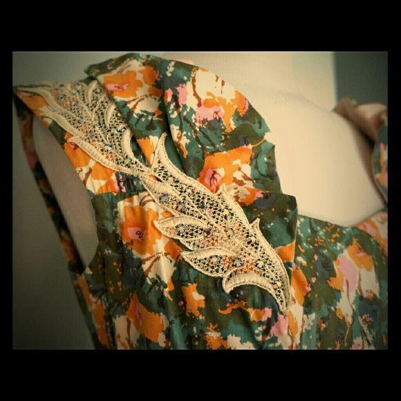 Vintage Wedding Dresses Miami: Vintage 1950s Iconic Alix Of Miami Garden Dress