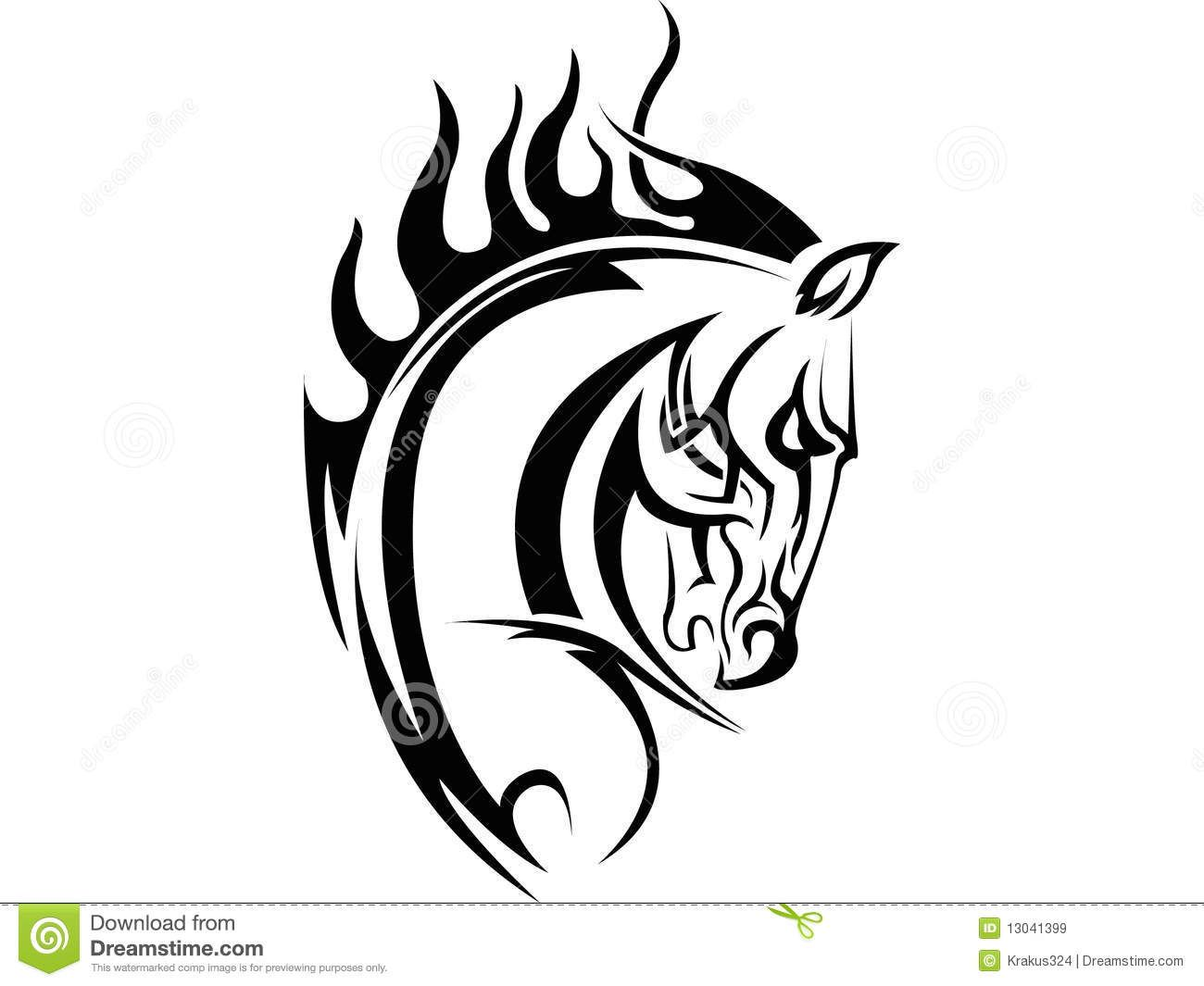 Line Quality In Art : Horse tattoo download from over 30 million high quality stock