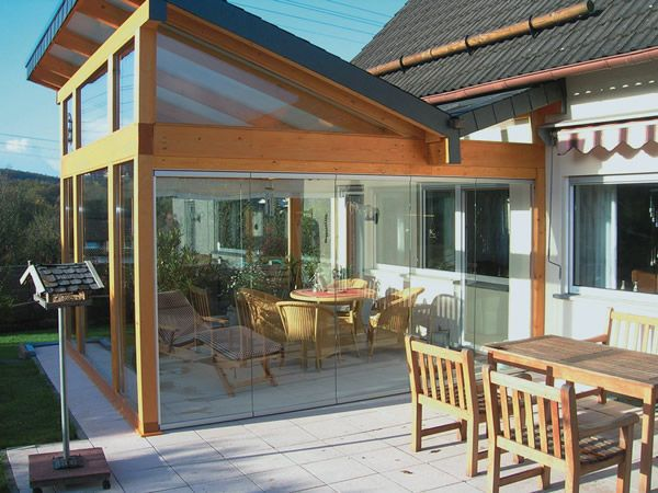 Risultati immagini per terrazzo chiuso a vetri | Casa | Pinterest ...