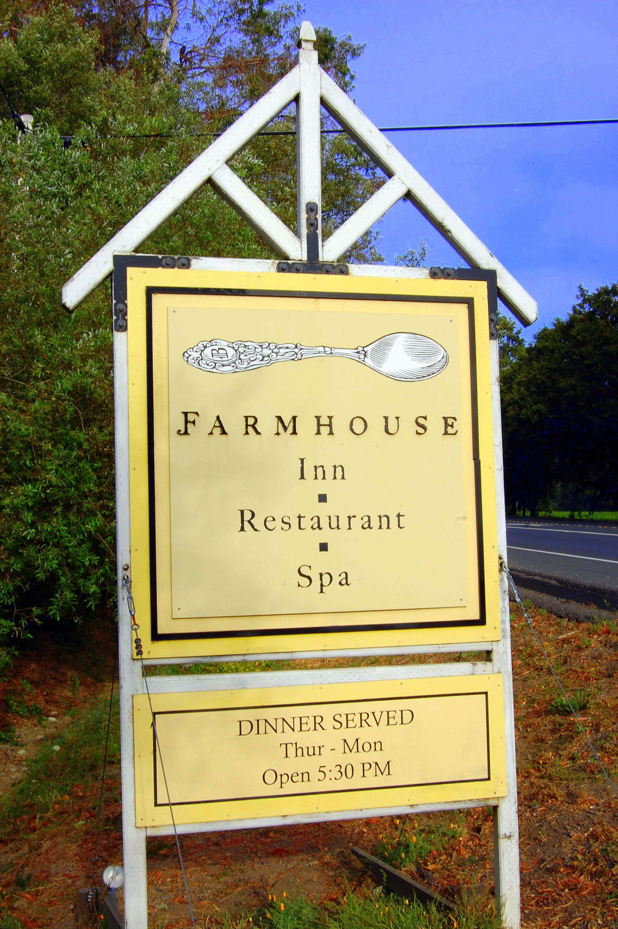 The Farmhouse Inn Forestville Ca Russian River Valley Travel