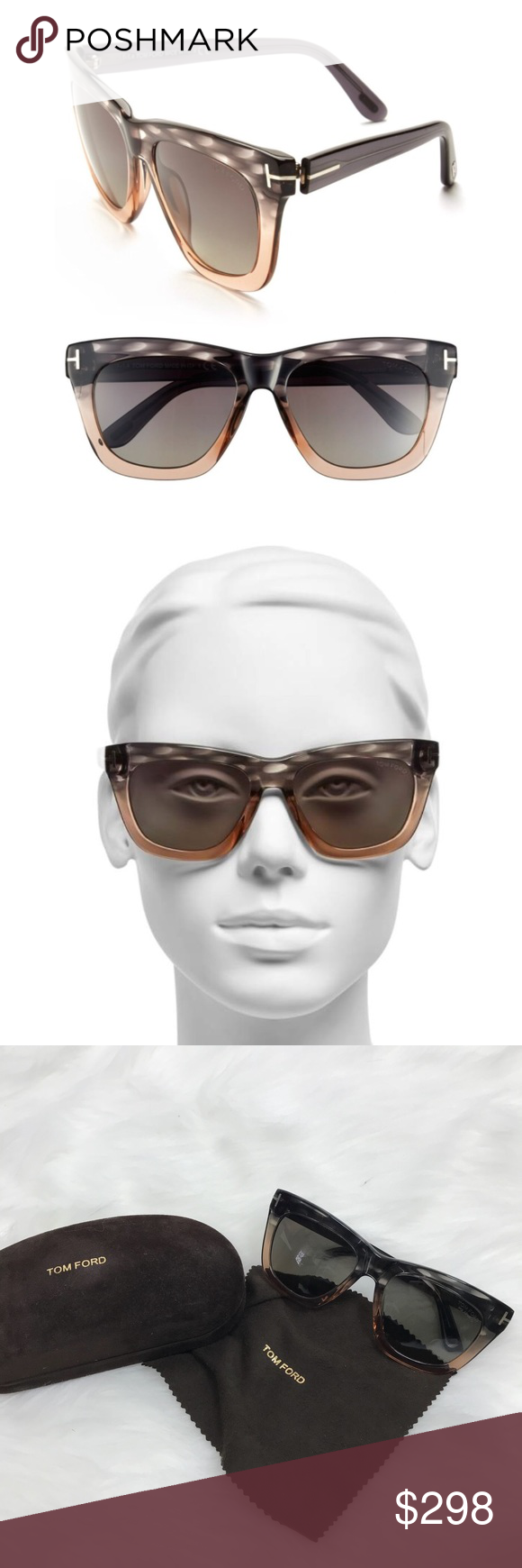 18fc038cd59d Tom Ford Celina 55mm Polarized Sunglasses Tom Ford Celina 55mm Polarized  Sunglasses! The perfect style