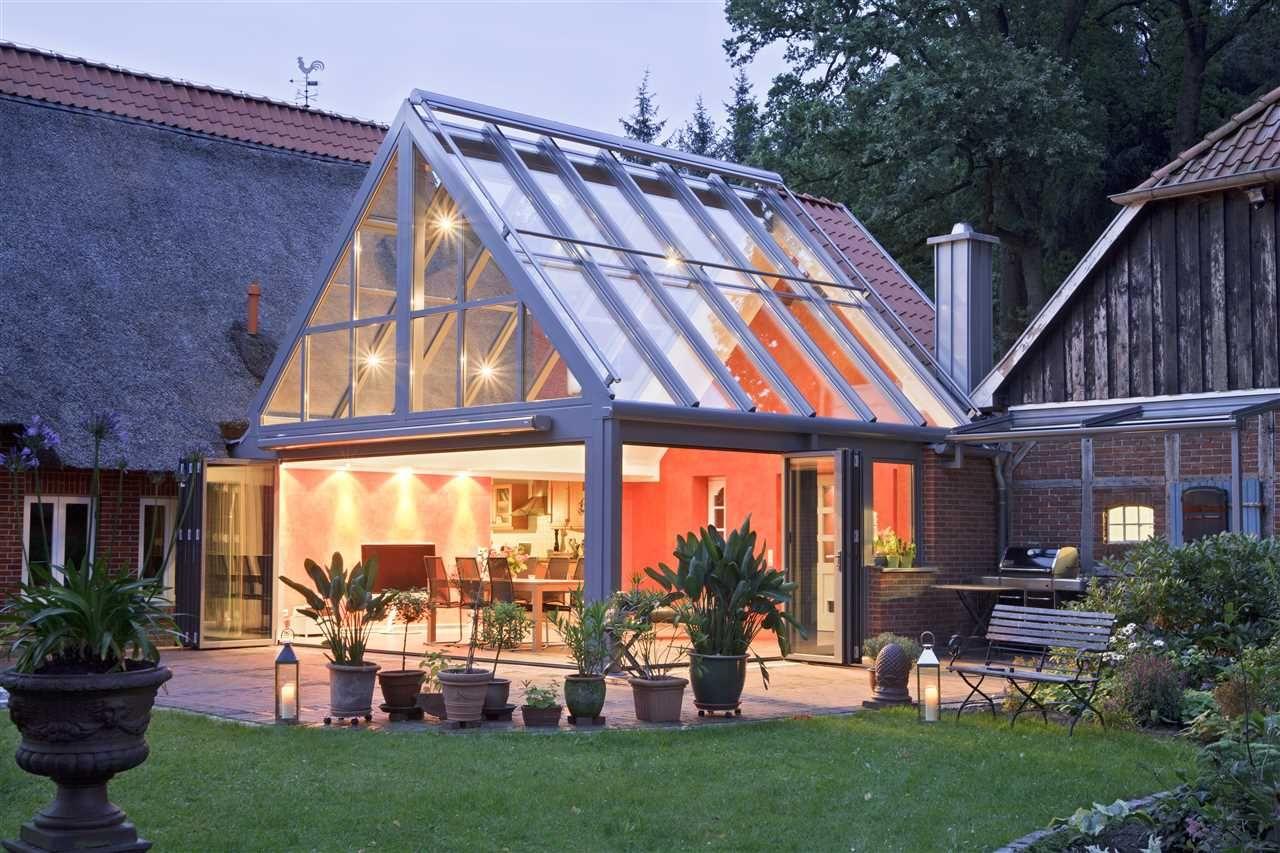 solarlux wintergarten design galerie und ratgeber. Black Bedroom Furniture Sets. Home Design Ideas
