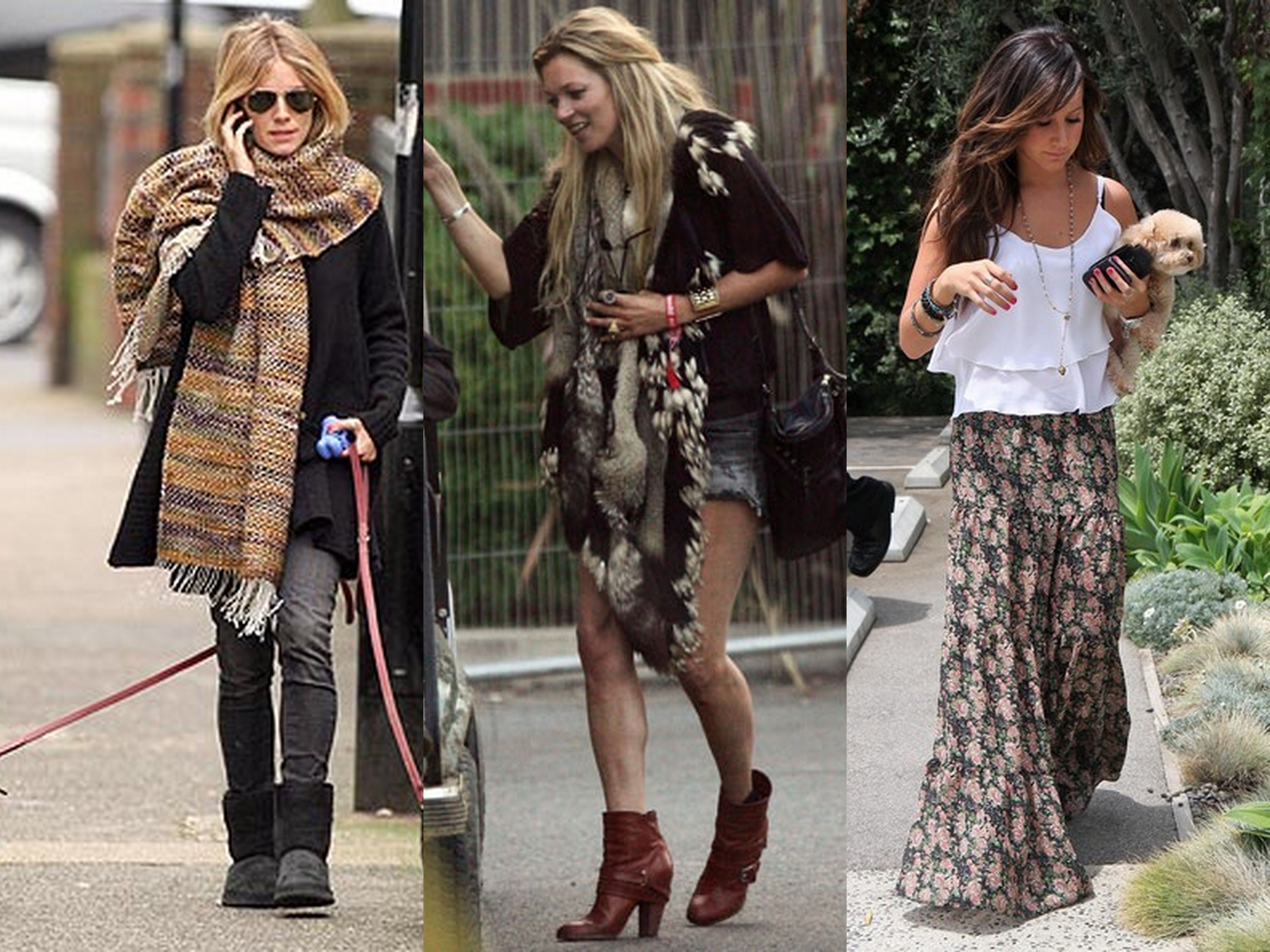 How to Look Boho Chic
