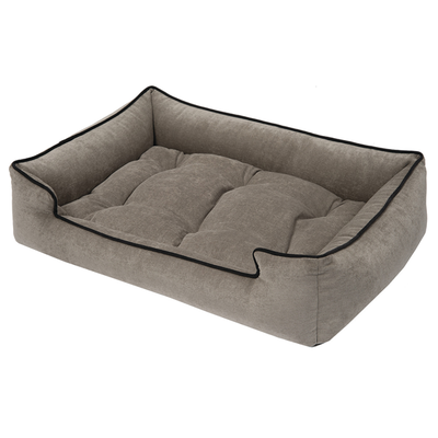 Microvelvet Sleeper Dog Bed (With images) Dog bed, Dog
