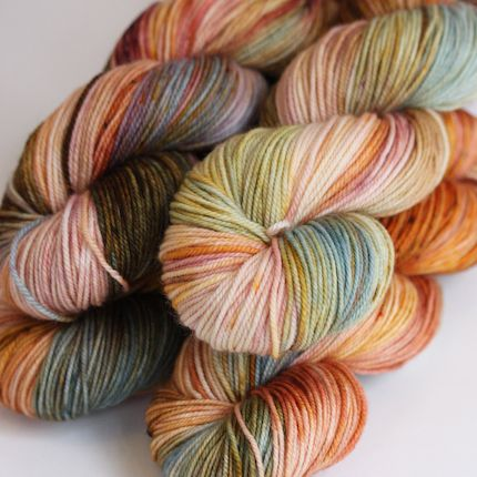 """Sanguine Sky"" by Becoming art yarn"