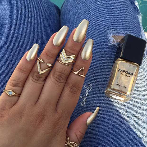 25 Fun Ways to Wear Ballerina Nails | Pinterest | Ballerina nails ...