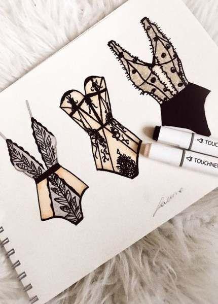 Neue Modedesign-Skizzenbuch-Ideen – #ideen #modedesign #skizzenbuch