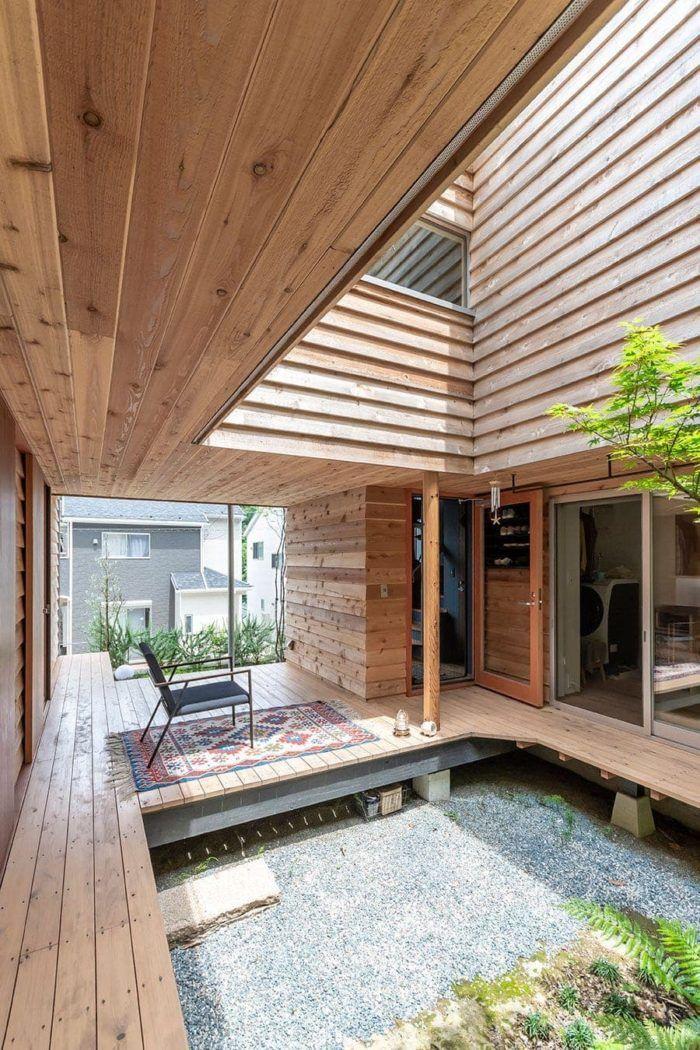 縁側は 外にある居間 逗子の戸外感覚溢れる家で暮らす 2020 平屋