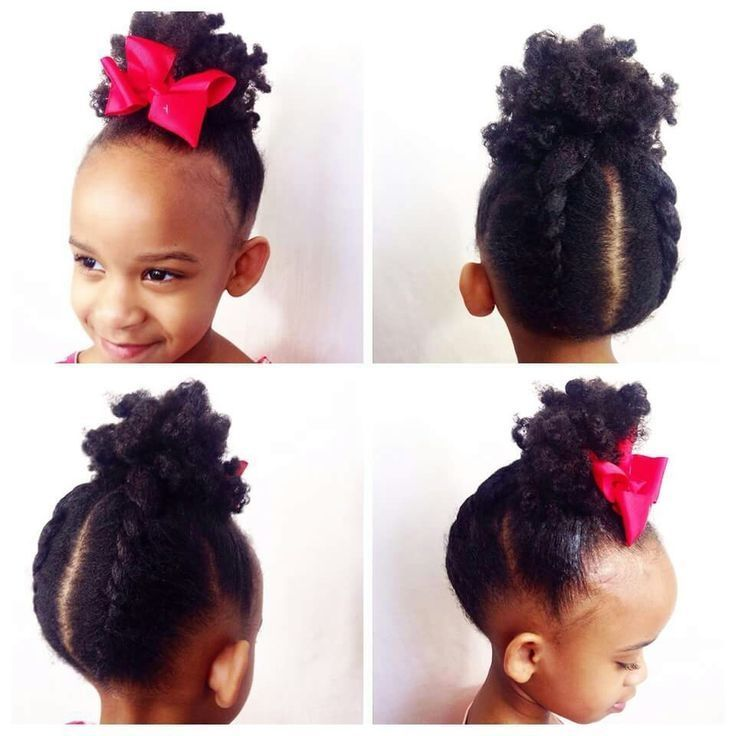 Natural Hairstyles For Little Black Girls With Short Hair Natural Hair Styles Little Girl Hairstyles Kids Hairstyles