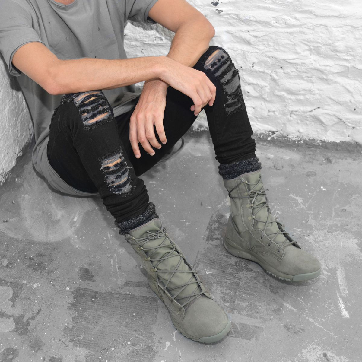 online store a102c c4142 Image result for nike sfb on feet