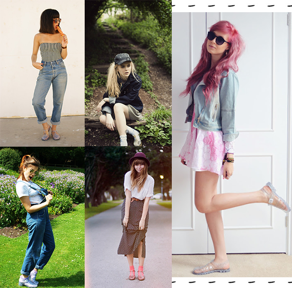 How To Wear Jellies! Try it out yourself? http://www. Jelly Shoes ...