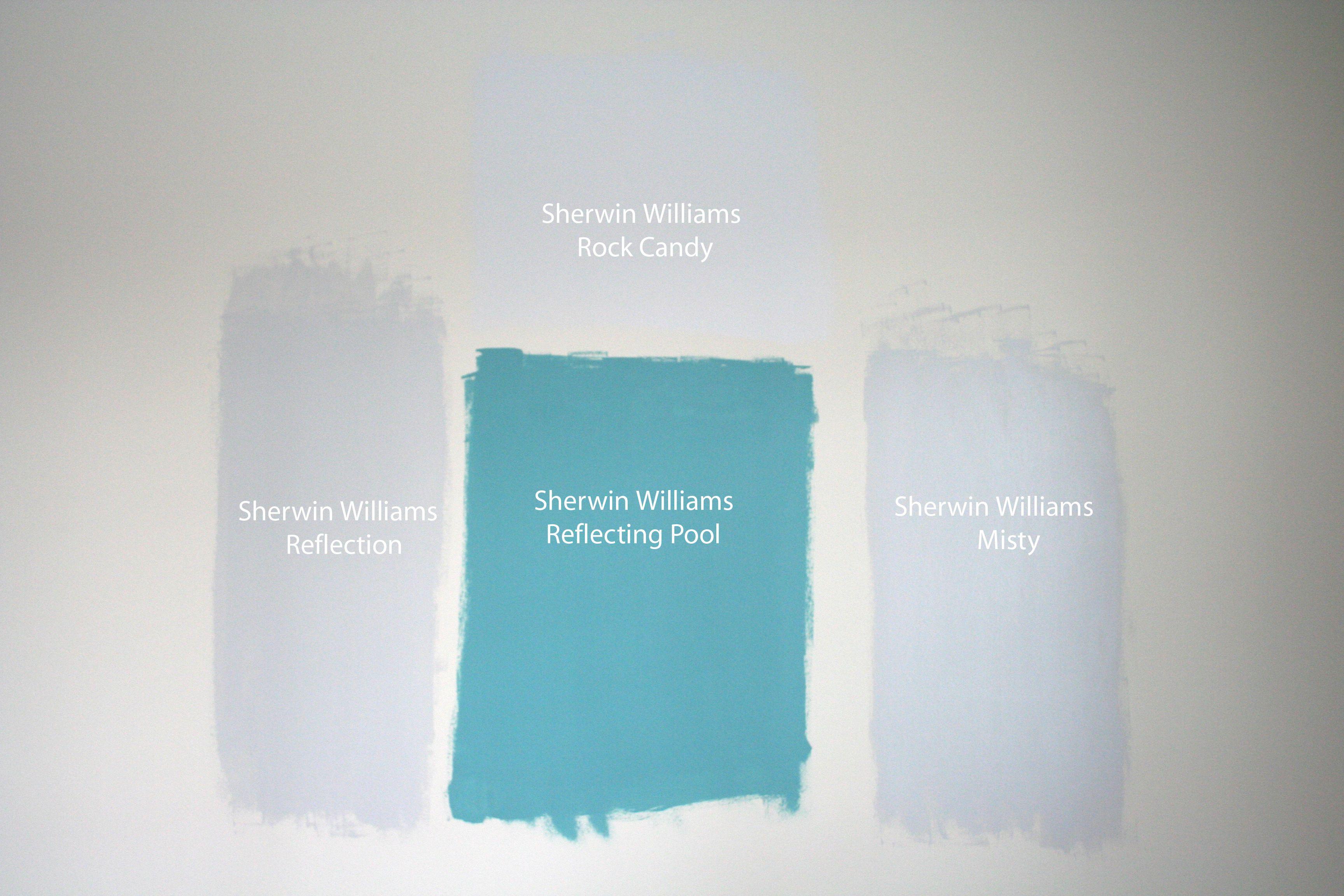 Sw Misty And Rock Candy Paint Colors Pinterest