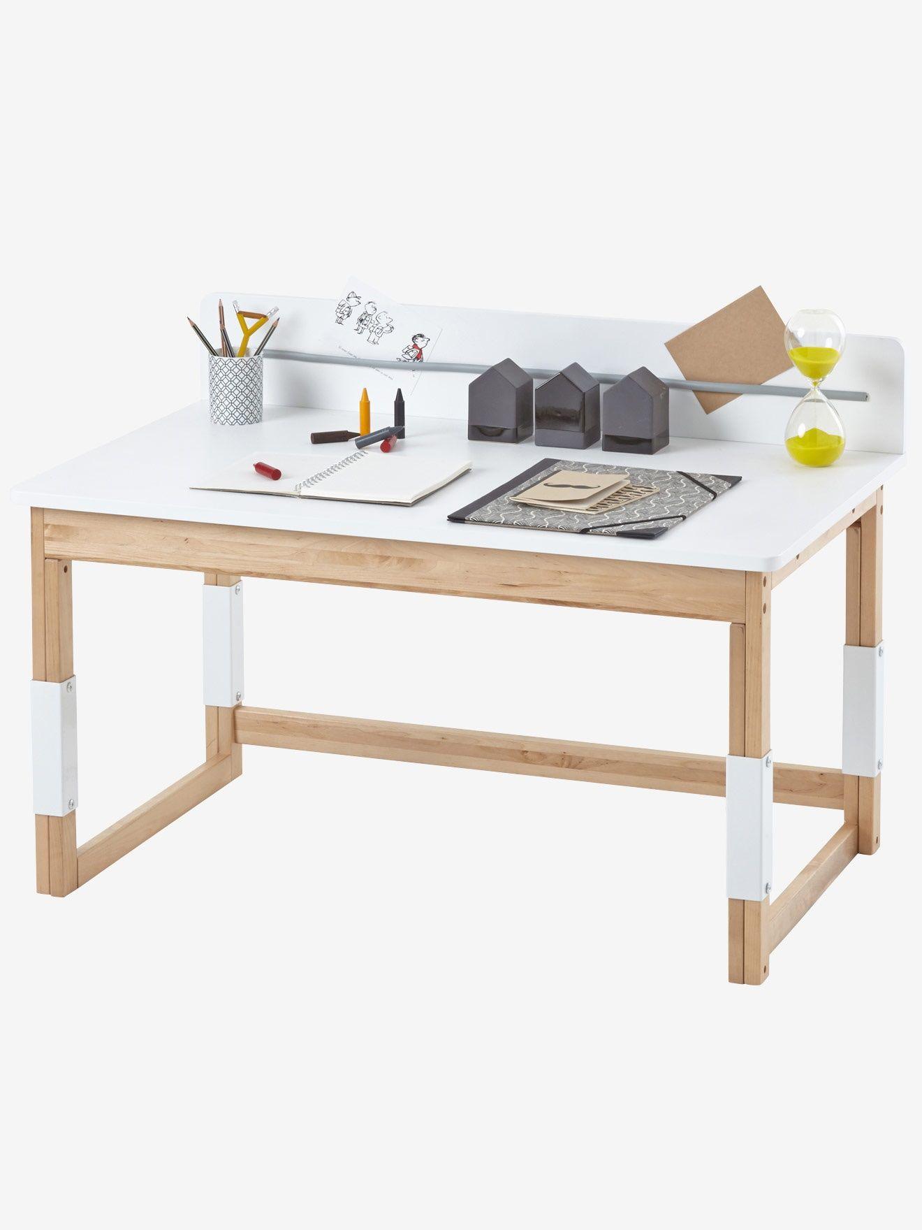 Kinderschreibtisch höhenverstellbar selber bauen  Vertbaudet Höhenverstellbarer Schreibtisch