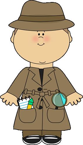 Kid Detective Clip Art Kid Detective Image Detective Theme Detective Themed Classroom Kid Detectives