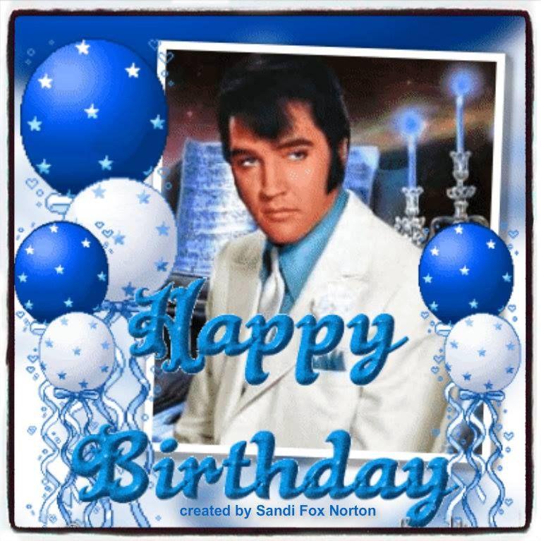 Elvis Presley Virtual Birthday Cards