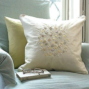 bead- and button-embellished cushion to make - Craft - allaboutyou.com & bead- and button-embellished cushion to make - Craft - allaboutyou ... pillowsntoast.com