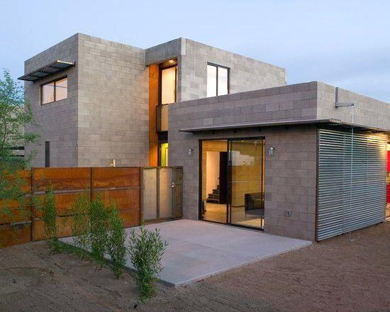 Modern Concrete Block House Plans Home Design Ideas Precast In Designs 18 Fachadas Arquitetura Casas Casa De Alvenaria Arquitetura