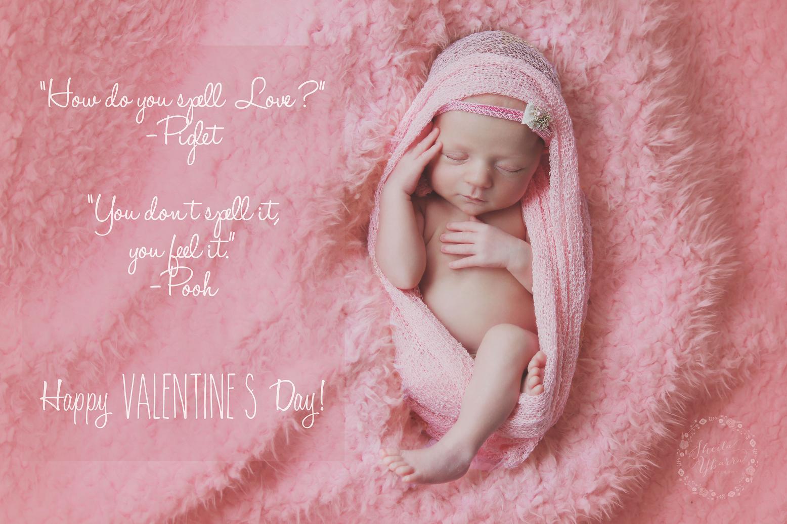 Happy Valentine's Day | Sheila Ybarra Photography | Newborn Photography | San Antonio Newborn Photographer