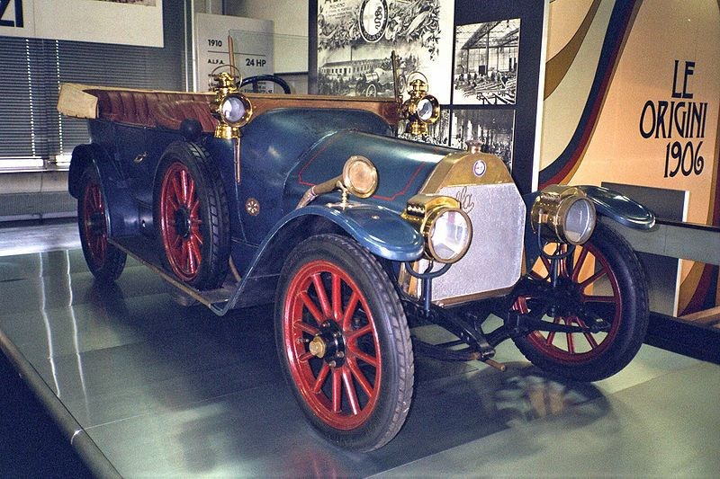 The Very First A L F A Now Alfa Romeo Car Produced The 24 Hp Alfa Romeo Alfa Romeo Mito Alfa Romeo Cars