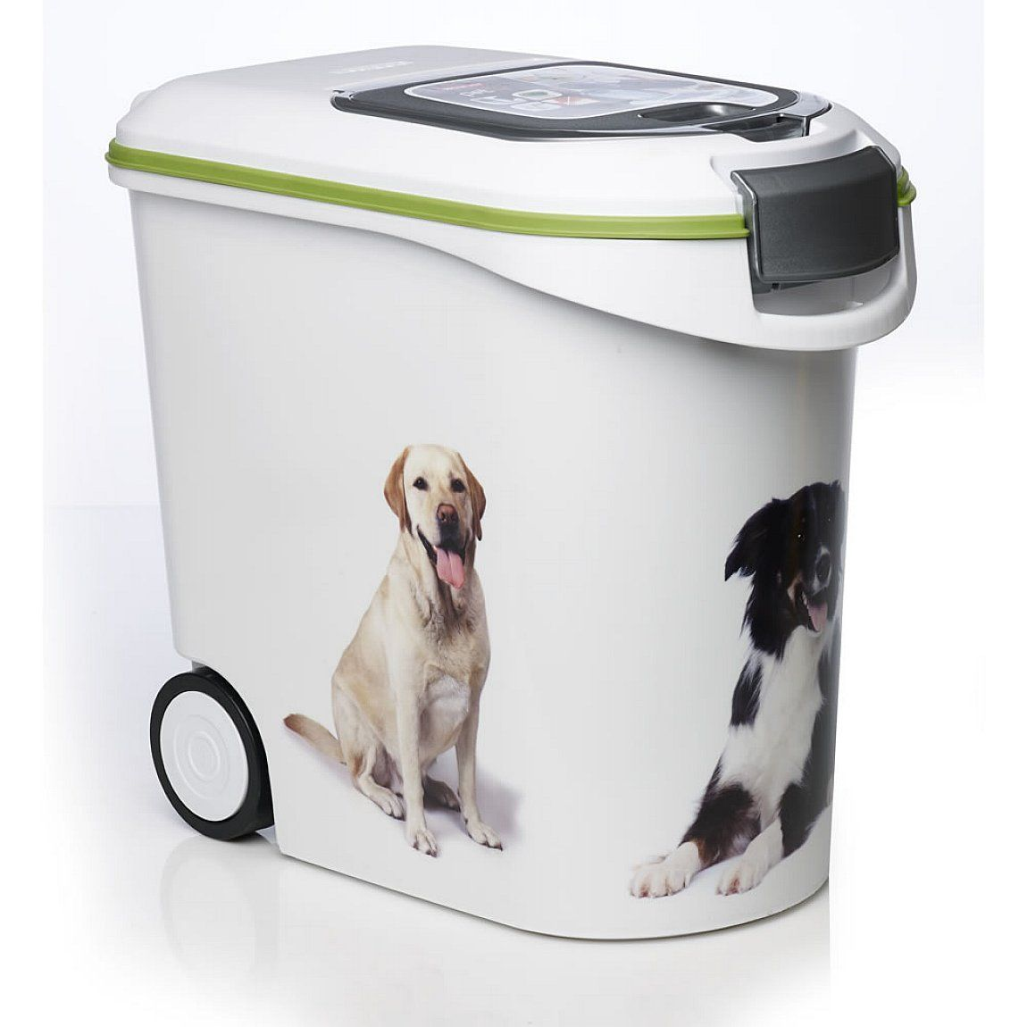 Excellent White Colors Dog Food Storage Container