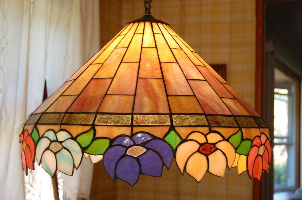 Stained Glass Lamp Shade Patterns Stained Glass Stained Glass
