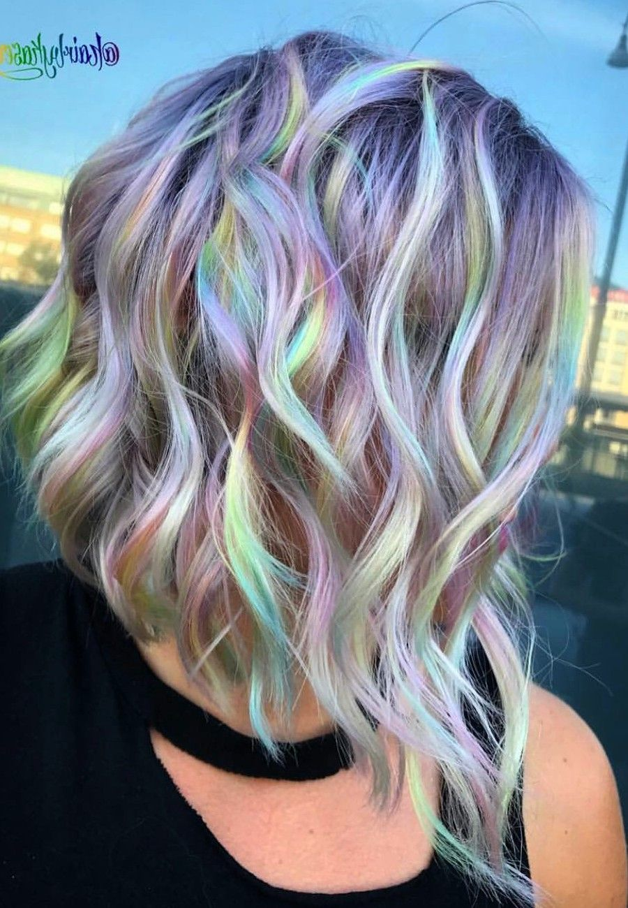 45 Awesome Color Hairstyles Ideas For Your Inspiration Hot Hair Colors Unicorn Hair Cool Hair Color