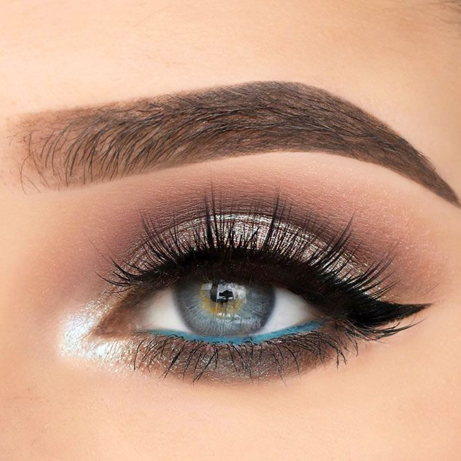 50 Stunning Eye Shadow Looks For Gorgeous Grey Eyes Smokey Eye