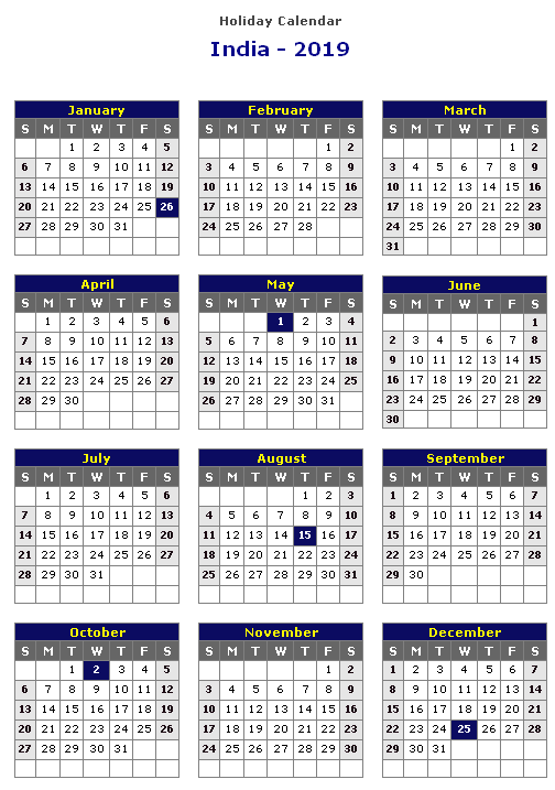 2012 calendar with holidays india pdf files