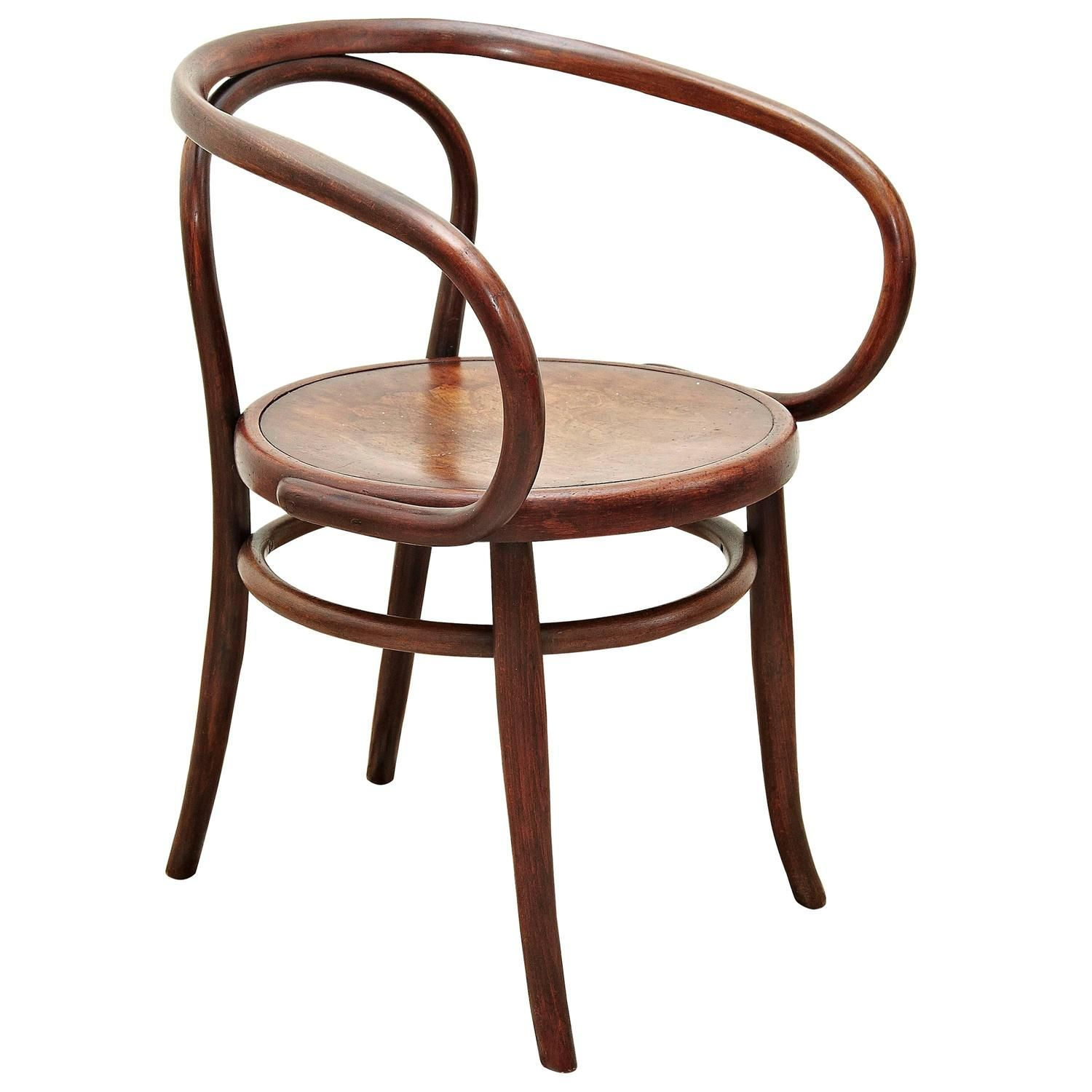 Thonet 209 Armchair by Auguste Thonet for Thonet circa 1900