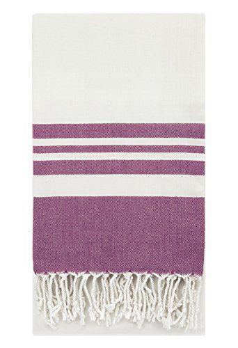 eshma mardini peshtemal turkish bamboo towel beach pool cover up picnic bath spa sauna purple 9 95