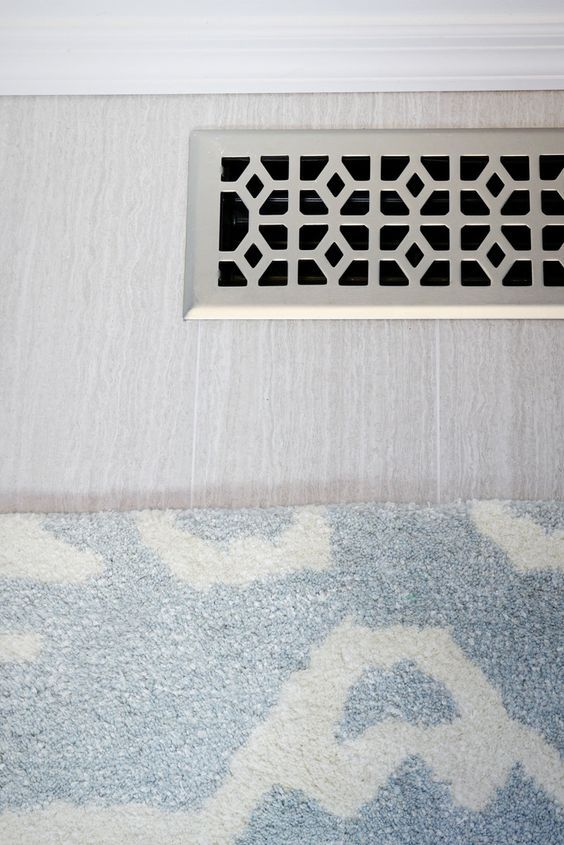 octagonal floor register vent covers baseboard and modern
