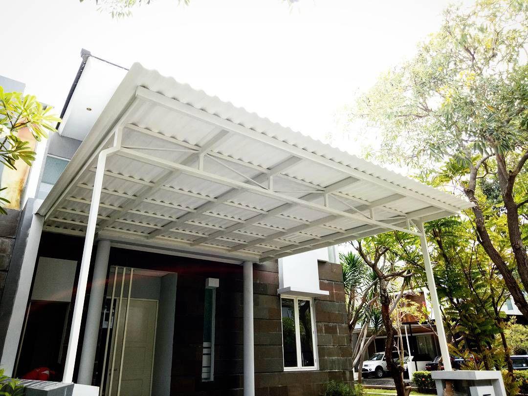 Kanopi Baja Design Ringan Terbaru Beserta Harga Rumah Modern