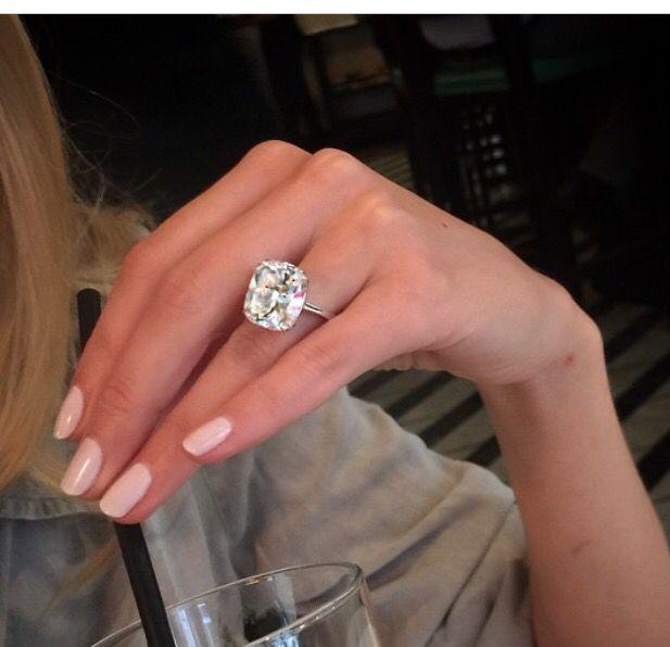 Cushion Cut Diamonds Are A Girl S Best Friend In 2019