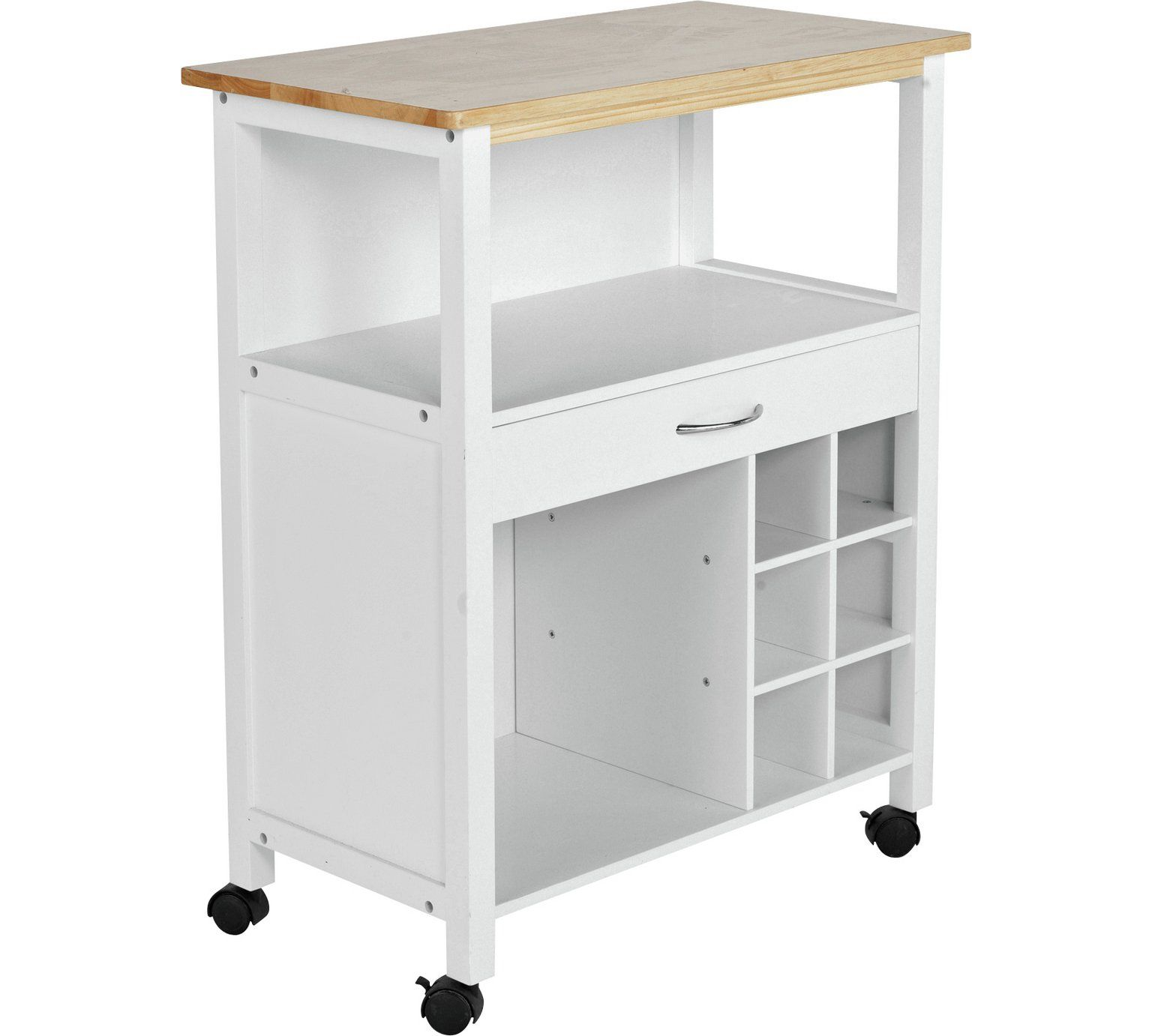 Buy HOME Kitchen Trolley with Wine Rack at Argos visit