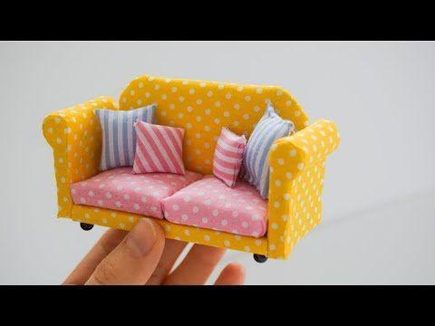 Mini Koltuk Yapımı | Kendin Yap - YouTube #stoelen